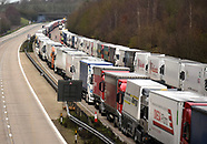 Boxing day lorry drivers on M20