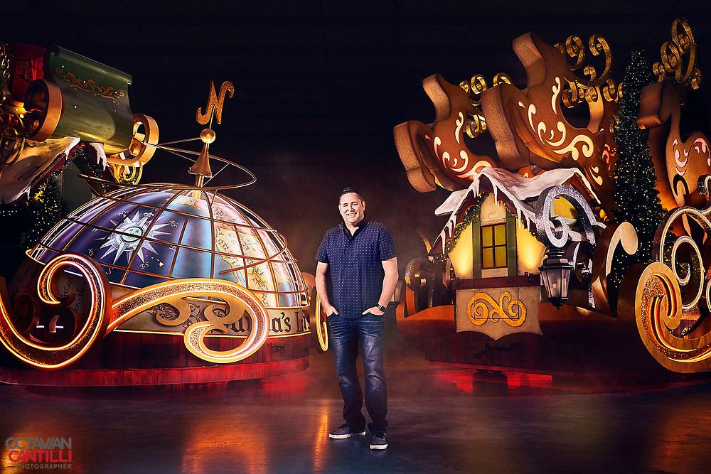 Universal Orlando Resort's senior director of entertainment creative development, Michael Aiello for Norwegian Magazine