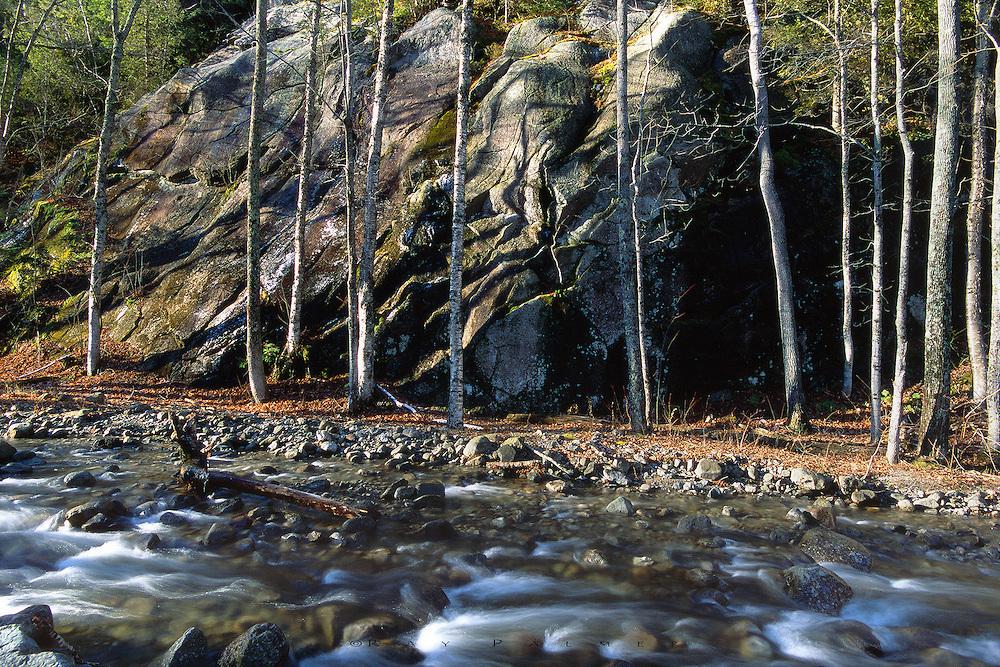 Between Seasons<br /> Round Mountain Brook, Adironondacks, NY
