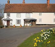 Village bookshop in Stoke by Nayland, Suffolk, England