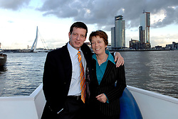 09-12-2006 VOLLEYBAL: CEV OP BEZOEK IN NEDERLAND: ROTTERDAM<br /> De board of Executive Committee CEV waren uitgenodigd door Rotterdam, Rotterdam Topsport en de NeVoBo voor de uitleg van O[peration Restore Confidence / Riet Ooms en Olivier Mottier<br /> ©2006-WWW.FOTOHOOGENDOORN.NL