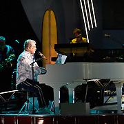 COLUMBIA, MD - June 15th, 2012 - Brian Wilson of The Beach Boys performs at Merriweather Post Pavilion as part of the band's 50th Anniversary Reunion Tour. This tour marks the first time Wilson has done a full range of dates with the band since 1965. (Photo by Kyle Gustafson/For The Washington Post)