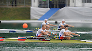 Bled, SLOVENIA,  NOR M2X, Bow Olaf TUFTE and Iztok COP,  semi final, men's double sculls, on the second day of the FISA World Cup, Bled. Held on Lake Bled.  Saturday  29/05/2010  [Mandatory Credit Peter Spurrier/ Intersport Images] Cop last event as international level.