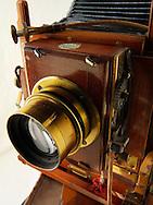 Thornton Pickard wooden bellows view camera