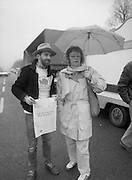 First All-Traveller Mini Marathon.    (R53)..1987..05.04.1987..04.05.1987..5th April 1987..Today saw the running of the first All-Traveller Mini Marathon in aid of Trocaire the World Aid Agency. The race was run over a 10k course in the Phoenix Park, Dublin. Bishop Eamon Casey a patron of the charity was on hand to lend support.