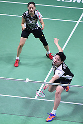 2018?10?28?.    ?????????——???????????????????????.    10?28?????????????????????.    ???????????????????????????????????????????????????2?0??????????????????.    ?????????..(SP)FRANCE-PARIS-BADMINTON-YONEX FRENCH OPEN-FINALS-MIXED DOUBLES..(181028) -- Oct. 28, 2018  Seo Seung Jae (R)Chae Yujung of South Korea compete during the mixed doubles final against Zheng SiweiHuang Yaqiong of China at 2018 Yonex French Open in Paris, France on Oct. 28, 2018. Zheng SiweiHuang Yaqiong won 2-0 and claimed the title. (Credit Image: © Xinhua via ZUMA Wire)
