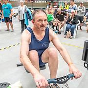 11:34 AM- Grassroots Trust #14- Men?s 1000m Masters D, E<br /> <br /> NZ Indoor Champs, raced at Avanti Drome, Cambridge, New Zealand, Saturday 23rd November 2019 © Copyright Steve McArthur / @rowingcelebration www.rowingcelebration.com