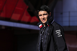 February 18, 2019 - Barcelona, Barcelona, Spain - Esteban Ocon of France with Mercedes AMG Petronas Motorsport W10 portrait during the Formula 1 2019 Pre-Season Tests at Circuit de Barcelona - Catalunya in Montmelo, Spain on February 18. (Credit Image: © Xavier Bonilla/NurPhoto via ZUMA Press)
