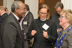 Berkeley Divinity School at Yale University. Convocation Dinner, photo with groups at Lawn Club. 20 October 2015