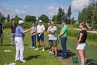 SCHIPLUIDEN / Delft -  - NGF GolfStart bij Delfland Golf. olv van PGA pro Helen Reid.      COPYRIGHT KOEN SUYK