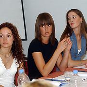Miss Nederland 2003 reis Turkije, Natascha Romans van Schaik, Marenka Vink, Femke Fredriks