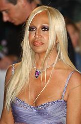© Andrew Ross/ABACA. 51437. London-UK, October 15 2003. Donatella Versace at Fashion Rocks at The Royal Albert Hall.  | 51437_12