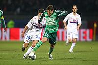 FOOTBALL - FRENCH CHAMPIONSHIP 2009/2010 - L1 - OLYMPIQUE LYONNAIS v ST ETIENNE - 13/03/2010 - PHOTO ERIC BRETAGNON / DPPI - <br /> GONZALO BERGESSIO (ASSE)
