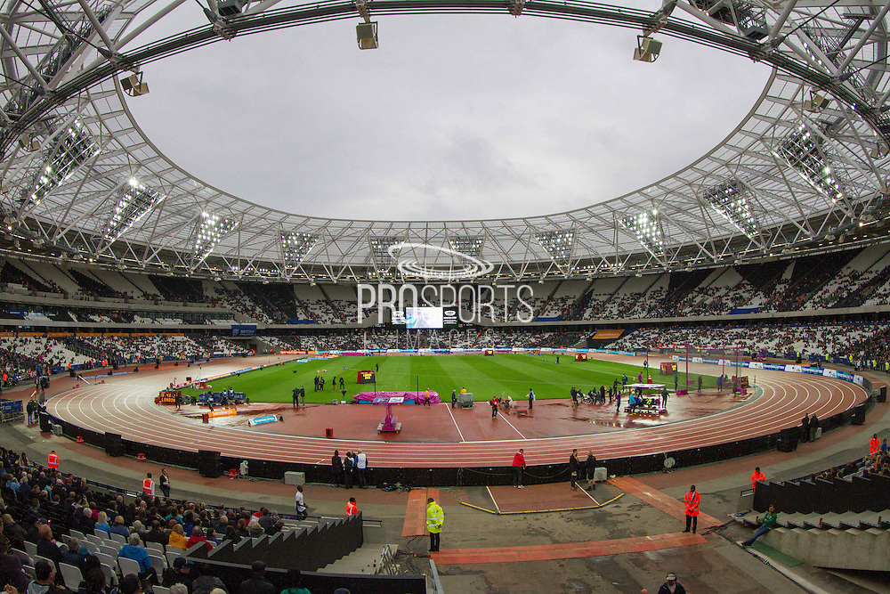 The Olympic Park Stadium, Sainsbury's Anniversary Games at the Queen Elizabeth II Olympic Park, London, United Kingdom on 24 July 2015. Photo by Phil Duncan.