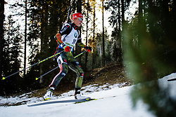 Maren Hammerschmidt (GER) during Women 12.5 km Mass Start at day 4 of IBU Biathlon World Cup 2015/16 Pokljuka, on December 20, 2015 in Rudno polje, Pokljuka, Slovenia. Photo by Ziga Zupan / Sportida