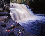 Canyon Falls, Canyon Falls and Gorge of the Sturgeon River State Roadside Park, Upper Peninsula near Alberta, Michigan.