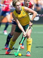 THE HAGUE - South Africa (RSA) vs England. Nicolene Terblache from RSA.  COPYRIGHT KOEN SUYK