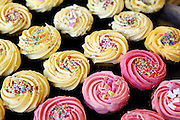 Cupcakes for sale on Northcote Road, Clapham
