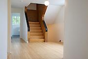 The upstairs hallway at Warren House, Wayne McGregor's Dartington Estate home in Devon<br /> Vanessa Berberian for The Wall Street Journal
