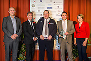 The 2015 Scottish Border Business Award winners for the Application of Creativity:<br /> Winner: Gordon Grant,  representing First Bus.  Sponsored by Scottish Borders Chamber of Commerce.<br /> <br /> The 2015 Scottish Border Business Awards, held at Springwood Hall, Kelso. The awards were run by the Scottish Borders Chambers of Commerce, with guest speaker Keith Brown, MSP. The SBCC chairman Jack Clark and the presenter Fiona Armstrong co hosted the event.