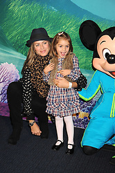 """TRINNY WOODALL and her daughter LYLA ELICHAOFF at a VIP Opening night of Disney & Pixar's """"Finding Nemo on Ice"""" at The O2 Arena Grennwich London on 23rd October 2008."""