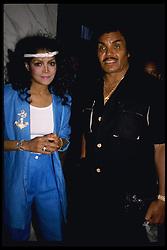 June 1985;  Hollywood, CA,  USA;  LATOYA JACKSON and her dad JOE JACKSON.   (Credit Image: © Kathy Hutchins/ZUMAPRESS.com)