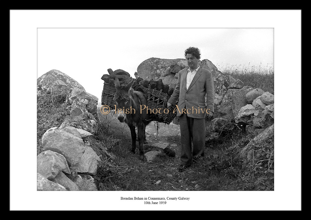Lensmen Photographic Agency has great shots of Brendan Behan. Irish vintage images are great to give as gifts for anniversaries to people who are interested in Irish photography, literature or culture.