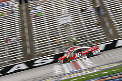 April 6, 2018 - Ft. Worth, Texas, United States of America - April 06, 2018 - Ft. Worth, Texas, USA: Ryan Reed (16) brings his race car down the front stretch during practice for the My Bariatric Solutions 300 at Texas Motor Speedway in Ft. Worth, Texas. (Credit Image: © Chris Owens Asp Inc/ASP via ZUMA Wire)
