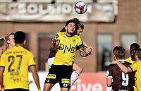 Fotball , 16. mai 2019 , Eliteserien , Mjøndalen - Lillestrøm 2-2<br /> Quint Jansen, MIF<br /> Daniel Pedersen , LSK