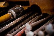 Ouro Preto_MG, Brasil...Ferramentas e pecas do processo produtivo artesanal cantaria de Ouro Preto...The appliances and craft production of cantaria in Ouro Preto...Foto: BRUNO MAGALHAES / NITRO