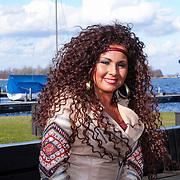 NLD/Loosdrecht/20130221 - Perspresentatie RTL programma Echte Meisje op de Prairie, Michella Kox