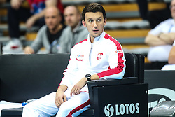 February 6, 2019 - Zielona Gora, Poland - trener David Celt during Tennis 2019 Fed Cup by Paribas Europe/Africa Zone Group 1  match between Poland and Russia  in Zielona Gora, Poland, on 7 February 2019. (Credit Image: © Foto Olimpik/NurPhoto via ZUMA Press)