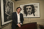 Marco Pierre White, Bob Carlos Clarke: Dark Genius - launch & memorial <br />at  Luciano, 72 St James's Street, London, SW1, Party at Sir Rocco Forte and Marco Pierre White's restaurant launching new permanent exhibition of pieces by the late Irish photographer, 13 November 2006. ONE TIME USE ONLY - DO NOT ARCHIVE  © Copyright Photograph by Dafydd Jones 66 Stockwell Park Rd. London SW9 0DA Tel 020 7733 0108 www.dafjones.com