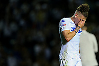 Leeds United's Kalvin Phillips reacts after the final whistle<br /> <br /> Photographer Alex Dodd/CameraSport<br /> <br /> The EFL Sky Bet Championship Play-off Second Leg - Leeds United v Derby County - Wednesday May 15th 2019 - Elland Road - Leeds<br /> <br /> World Copyright © 2019 CameraSport. All rights reserved. 43 Linden Ave. Countesthorpe. Leicester. England. LE8 5PG - Tel: +44 (0) 116 277 4147 - admin@camerasport.com - www.camerasport.com