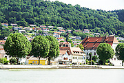 The Danube River between Passau and Linz