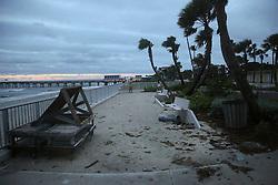 October 7, 2016 - Florida, U.S. - Lake Worth beach Friday, October 7, 2016. (Credit Image: © Bruce R. Bennett/The Palm Beach Post via ZUMA Wire)