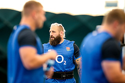 Joe Marler of England trains in the gym at Clifton College - Mandatory by-line: Robbie Stephenson/JMP - 15/07/2019 - RUGBY - England - England training session ahead of Rugby World Cup