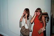 TALA SHAKARCHI; MARYA SOUSSANE; , Vogue: Fashion's Night Out: Stella McCartney. Stella McCartney, 30 Bruton Street, London. 8 September 2010.  -DO NOT ARCHIVE-© Copyright Photograph by Dafydd Jones. 248 Clapham Rd. London SW9 0PZ. Tel 0207 820 0771. www.dafjones.com.