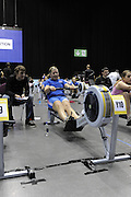 Birmingham, Great Britain, Women J12 [2min rowing]  Gold medallist Robyn ARMSTRONG, Fletcher Sport Science/Star RC, 554m in 2 minutes, at the 2008 British Indoor Rowing Championships, National Indoor Arena. on  Sunday 26.10.2008 . [Photo, Peter Spurrier/Intersport-images] .