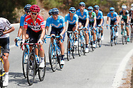 Michal Kwiatkowski (POL - Team Sky) red jersey, during the UCI World Tour, Tour of Spain (Vuelta) 2018, Stage 3, Mijas - Alhaurin de la Torre 178,2 km in Spain, on August 27th, 2018 - Photo Luis Angel Gomez / BettiniPhoto / ProSportsImages / DPPI