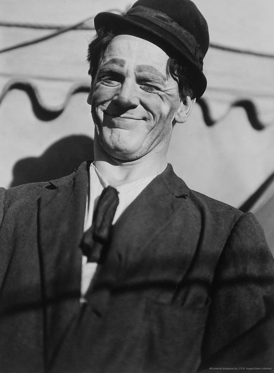 Circus Clown, Lias Circus Troupe, Australia, 1930