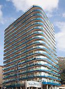 Ocean Village apartment block, Gibraltar, British overseas territory in southern Europe