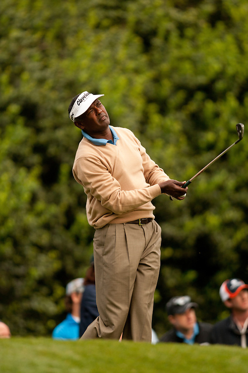 CHARLOTTE, NC - May 6: Vijay Singh of Fiji during the second round of the 2011 Wells Fargo Championship at Quail Hollow Club in Charlotte, North Carolina on May 6, 2011. Photograph © 2011 Darren Carroll