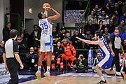 DESCRIZIONE : Campionato 2014/15 Serie A Beko Dinamo Banco di Sardegna Sassari - Acqua Vitasnella Cantu'<br /> GIOCATORE : Kenneth Kadji<br /> CATEGORIA : Tiro Tre Punti Controcampo<br /> SQUADRA : Dinamo Banco di Sardegna Sassari<br /> EVENTO : LegaBasket Serie A Beko 2014/2015<br /> GARA : Dinamo Banco di Sardegna Sassari - Acqua Vitasnella Cantu'<br /> DATA : 28/02/2015<br /> SPORT : Pallacanestro <br /> AUTORE : Agenzia Ciamillo-Castoria/L.Canu<br /> Galleria : LegaBasket Serie A Beko 2014/2015
