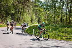 25.04.2018, Innsbruck, AUT, ÖRV Trainingslager, UCI Straßenrad WM 2018, im Bild Mario Gamper (AUT), Gregor Mühlberger (AUT), Patrick Konrad (AUT) // during a Testdrive for the UCI Road World Championships in Innsbruck, Austria on 2018/04/25. EXPA Pictures © 2018, PhotoCredit: EXPA/ JFK