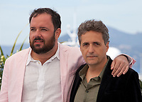 Directors Juliano Dornelles and Kleber Mendonça Filho at Bacurau film photo call at the 72nd Cannes Film Festival, Thursday 16th May 2019, Cannes, France. Photo credit: Doreen Kennedy