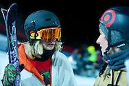 Tanner Hall during Ski Superpipe Practice at 2014 X Games Aspen at Buttermilk Mountain in Aspen, CO. ©Brett Wilhelm/ESPN