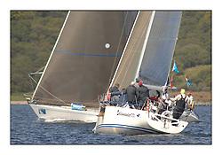 The Brewin Dolphin Scottish Series, Tarbert Loch Fyne...GBR1433R Salamander XX Corby 33 John Corson..