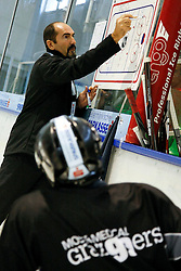 04.08.2011, UPC Arena, Graz, AUT, EBEL, Trainig, im Bild Mario Richer (Graz 99ers Headcoach) // during the Erste Bank Icehockey League, UPC Arena, Graz, Austria, 2011-08-04, EXPA Pictures © 2011, PhotoCredit: EXPA/ E. Scheriau