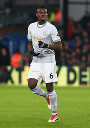 March 5, 2018 - London, United Kingdom - Manchester United's Paul Pogba.during the Premiership League  match between Crystal Palace and Manchester United at Selhurst Park Stadium in London, England on 05 March 2018. (Credit Image: © Kieran Galvin/NurPhoto via ZUMA Press)
